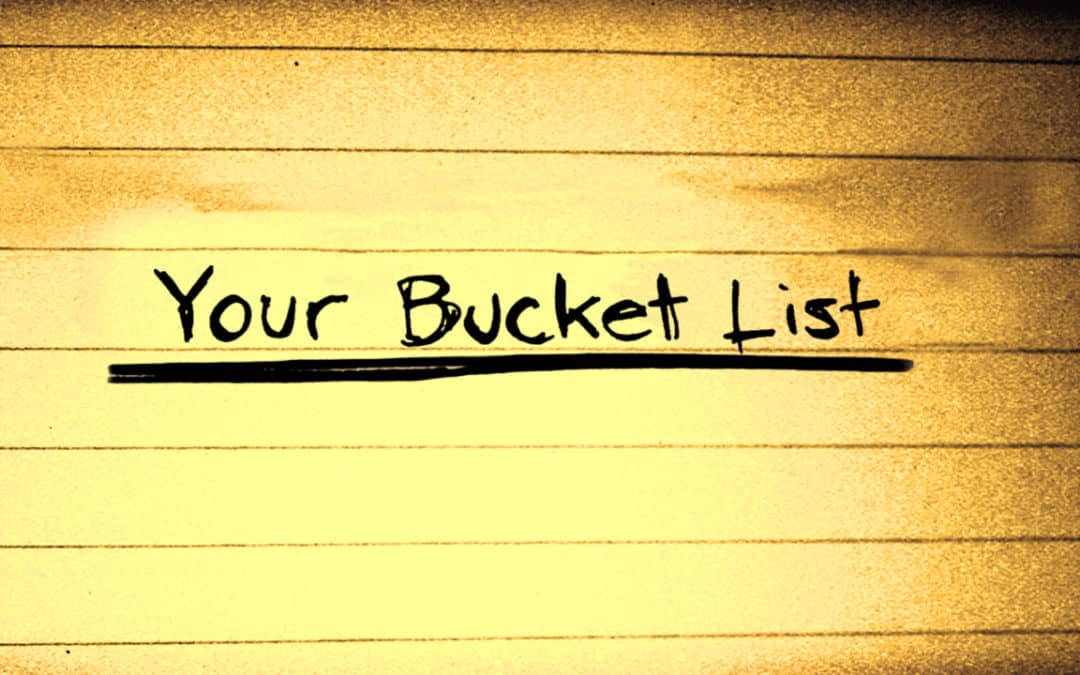 Money Bucket List