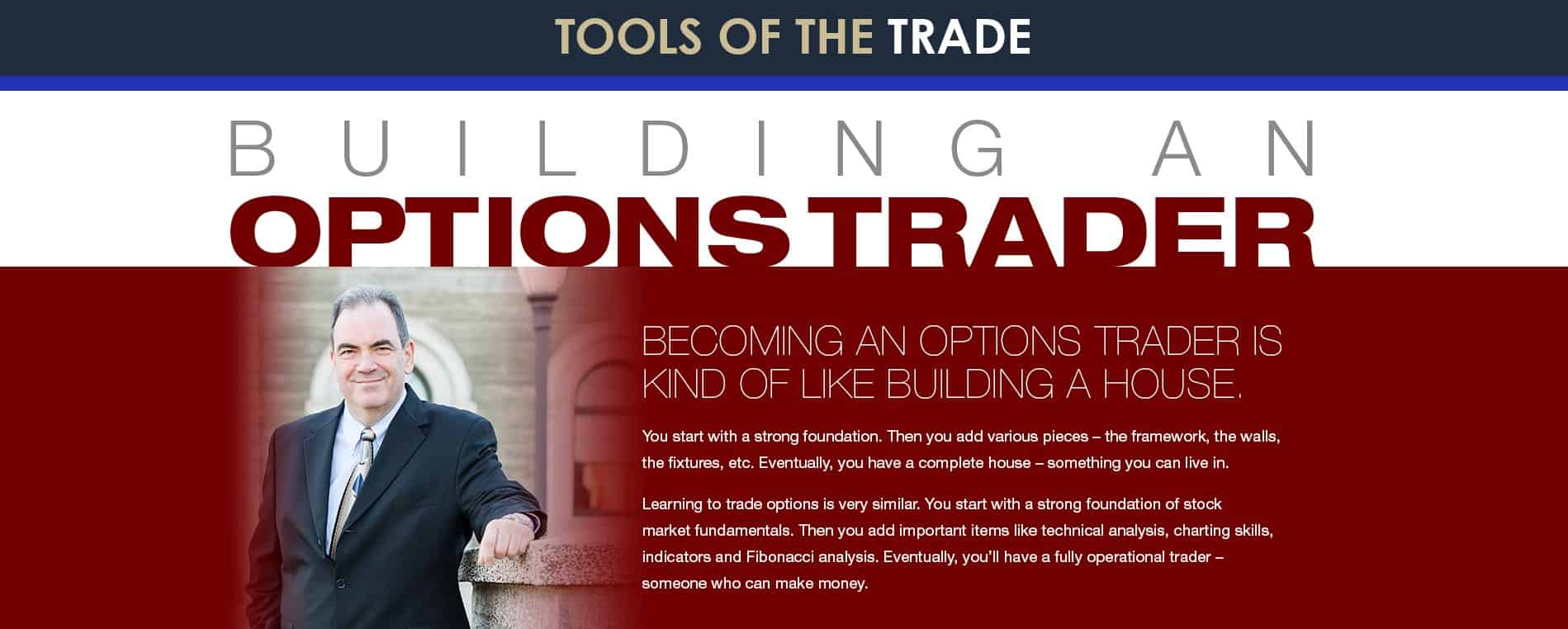 Option trade builder