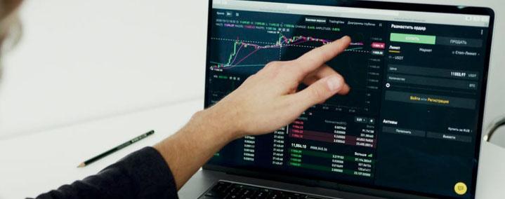 Omega Chartz Stock Trading Graph